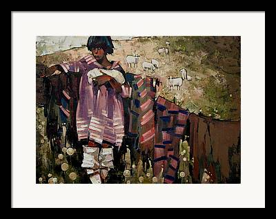 Carpathians Paintings Framed Prints