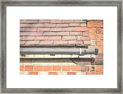 Gutter Framed Print by Tom Gowanlock