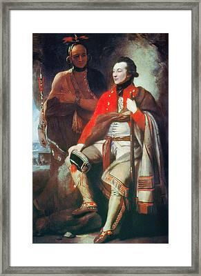 Guy Johnson (c1740-1788) Framed Print