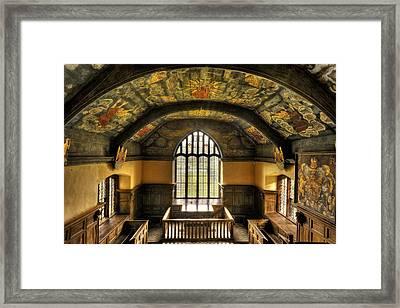 Gwydir Uchaf Chapel Conwy Valley Framed Print by Mal Bray