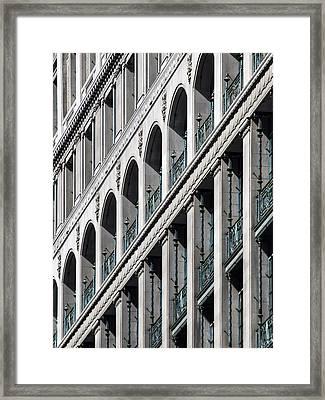 Gwynne Building Exterior Framed Print by Rob Amend