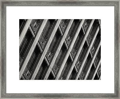 Gwynne Building Framed Print by Rob Amend