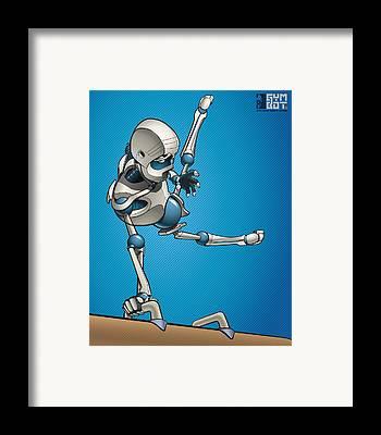 Robot Framed Prints