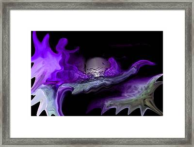 Gypsy Dancer And The Moon Framed Print by Sherri's Of Palm Springs