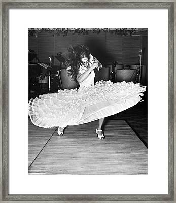 Gypsy Dancer Carmen Amaya Framed Print