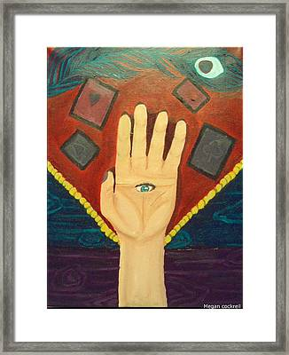 Gypsy Divinations Framed Print by Megan Cockrell