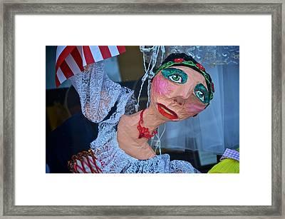 Gypsy Doll Framed Print by Ricardo J Ruiz de Porras