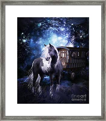 Gypsy Dreaming Framed Print by Shanina Conway