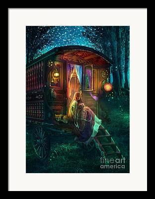 Firefly Framed Prints