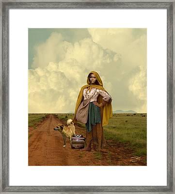 Gypsy Girl's Dream Framed Print by Schwartz
