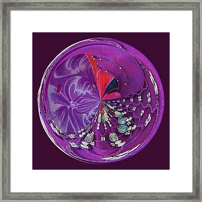 Gypsy Orb Framed Print by Paulette Thomas