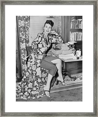 Gypsy Rose Lee Framed Print by Mountain Dreams