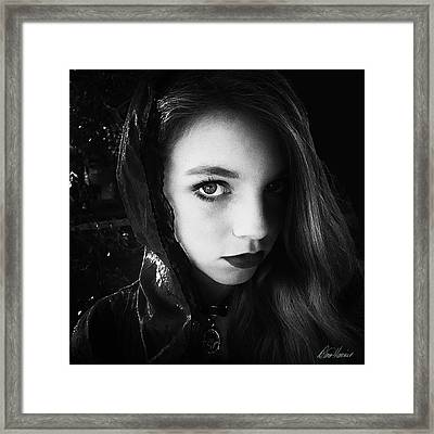 Gypsy Soul Framed Print by Diana Haronis