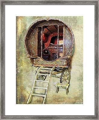 Gypsy Wagon Framed Print
