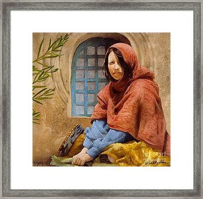 Gypsy... Framed Print by Will Bullas