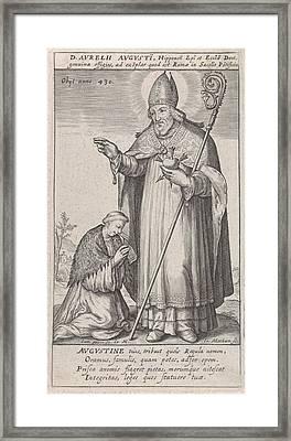 H Augustine, Jacob Matham, Rudolf II Van Habsburg German Framed Print by Jacob Matham