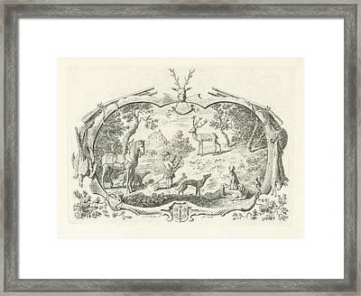 H Hubertus, Cornelis Van Noorde Framed Print by Cornelis Van Noorde