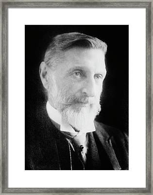 H. Rider Haggard Framed Print by Library Of Congress