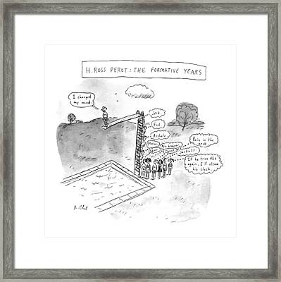 H. Ross Perot: The Formative Years Framed Print