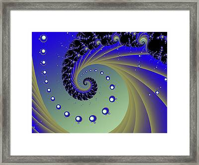 H Two O Framed Print by Sharon Lisa Clarke