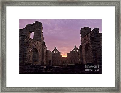 Ha Ha Tonka At Sunrise Framed Print
