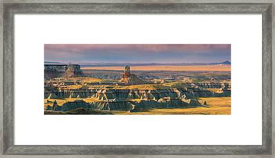 Ha Ho No Geh Canyon Framed Print by Henk Meijer Photography