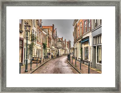 Lamps And Windows Framed Print