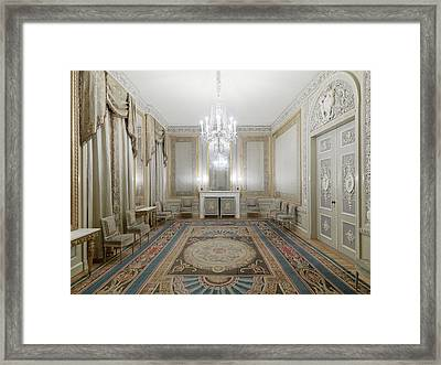 Haarlem Reception Room 1794 The Netherlands Framed Print by Quint Lox