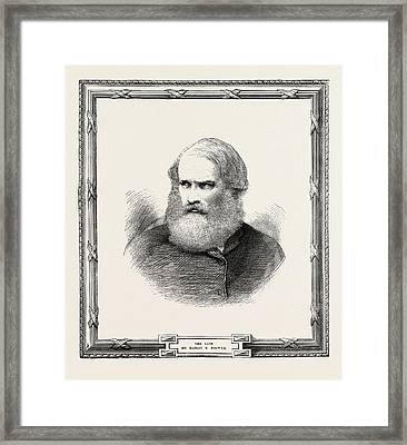 Hablot Knight Browne 12 July 1815 - 8 July 1882 Was An Framed Print by English School