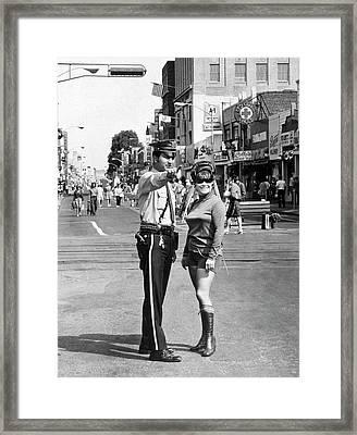 Hackensack Hot Pants Framed Print