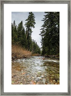 Hackleman Creek  Framed Print