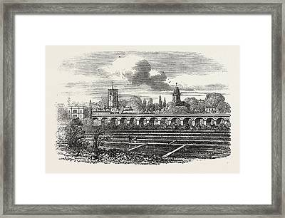 Hackney Station, And Watercress Plantation Framed Print