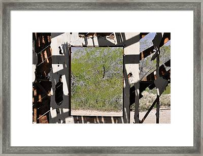 Had A Nice View Framed Print by Pamela Schreckengost