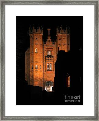 Hadleigh Deanery By Night Framed Print