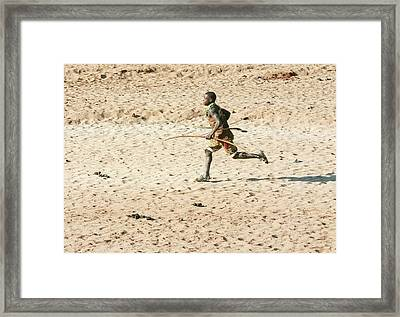 Hadza Hunters Framed Print by Photostock-israel