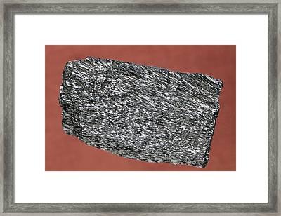 Haematite Framed Print