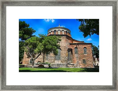 Hagia Irene - Istanbul Framed Print