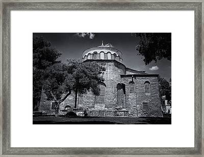Hagia Irene Framed Print