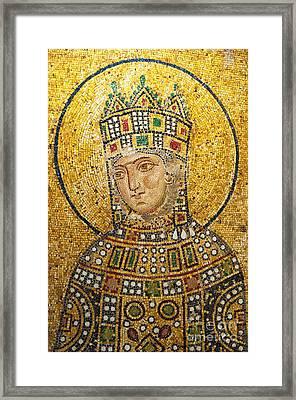 Hagia Sofia Mosaic 01 Framed Print by Antony McAulay