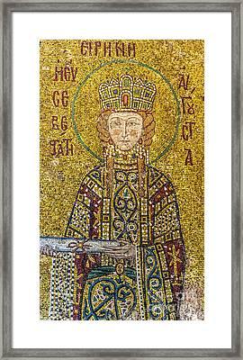 Hagia Sofia Mosaic 06 Framed Print by Antony McAulay