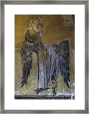 Hagia Sophia Angel Framed Print by Stephen Stookey