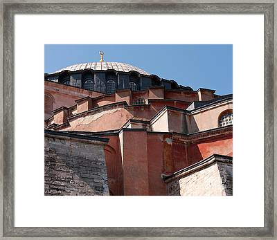 Hagia Sophia Angles 01 Framed Print by Rick Piper Photography
