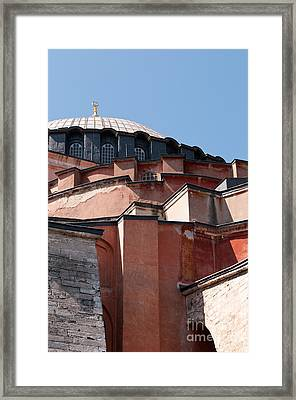 Hagia Sophia Angles 02 Framed Print by Rick Piper Photography