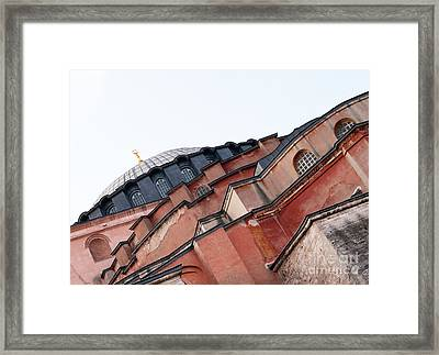 Hagia Sophia Angles 03 Framed Print by Rick Piper Photography