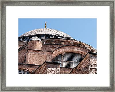 Hagia Sophia Curves 01 Framed Print by Rick Piper Photography