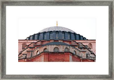 Hagia Sophia Curves 02 Framed Print by Rick Piper Photography