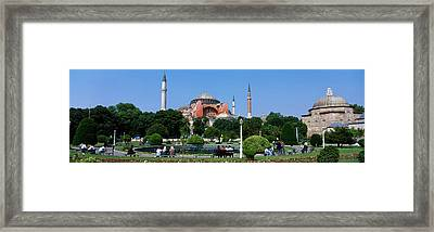 Hagia Sophia, Istanbul, Turkey Framed Print by Panoramic Images