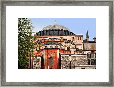 Hagia Sophia Framed Print by Lutz Baar