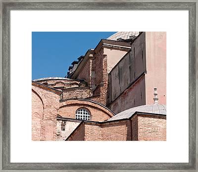 Hagia Sophia Walls 01 Framed Print by Rick Piper Photography