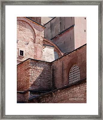 Hagia Sophia Walls 02 Framed Print by Rick Piper Photography